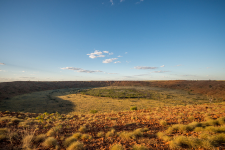 crater: Wolfe Creek Crater, Western Australia