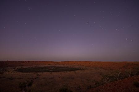 meteorites: Wolfe Creek Crater, Western Australia