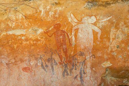 aborigen: el arte rupestre aborigen en Australia Occidental