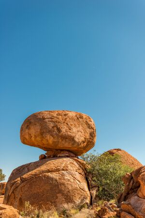 territory: Devils Marbles, Northern Territory Stock Photo