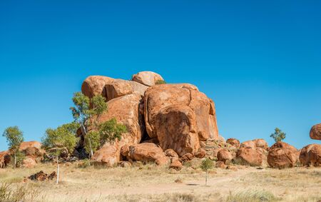downunder: Devils Marbles, Northern Territory Stock Photo