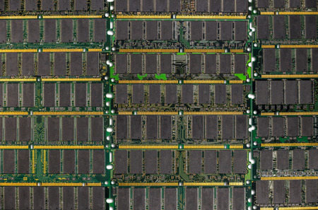 ddr: DDR RAM, Computer memory chips modules background