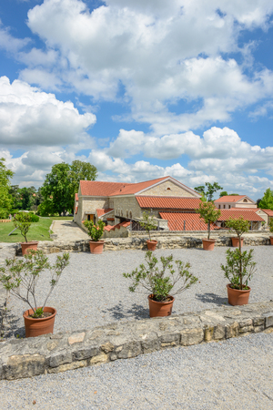 garden settlement: the rebuild roman city of carnuntum near vienna, austria Editorial