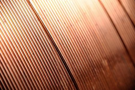 Plan rapproché de fil de cuivre