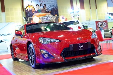 CHONBURI, THAILAND - NOVEMBER 02: The Toyota 86 at 15th Pacific Motor Show Modern Life Drive Smart on November 02, 2012 in Chonburi, Thailand.