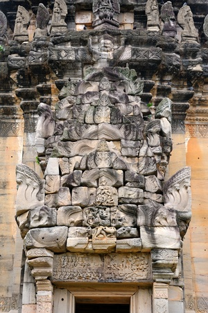 Phimai historical park (Thai: Prasat Hin Phimai) at Nakhon Ratchasima province, one of the most important Khmer temples of Thailand. photo