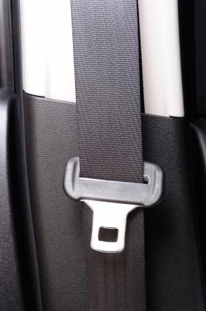 cinturon seguridad: primer cintur�n de seguridad del autom�vil (cintur�n de seguridad) Foto de archivo