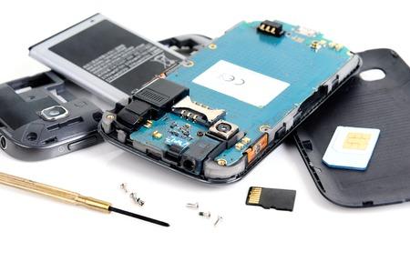 mobiele reparatie, mobiele demontage door ingenieur