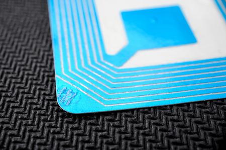 rfid: wireless tag used for RFID purposes