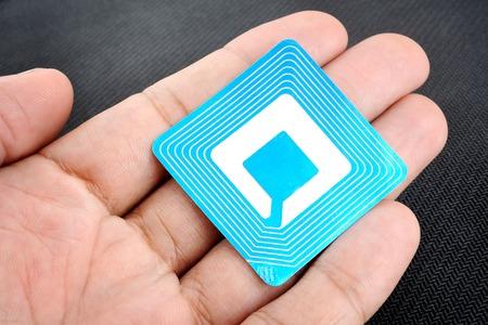 étiquette sans fil utilisés à des fins RFID