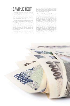 yen: Japanese currency notes , Japanese Yen