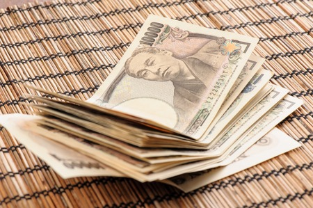 japanese currency: Japanese currency notes , Japanese Yen