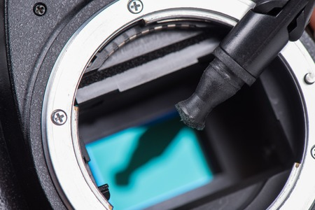 cmos: cleaning dirty camera sensor (CCD or Cmos)