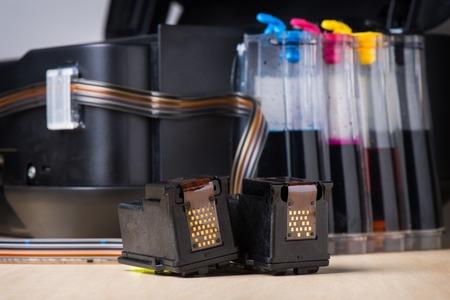 inkjet printer: ink-jet printer with ink tank system