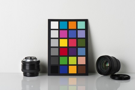correction: camera color correction, equipment for professional photographer