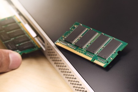 gigabytes: computer memory (RAM), Upgrading the personal computer.