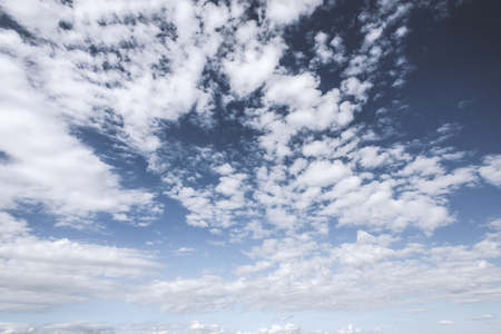 skyscapes: beautiful cloud against blue sky