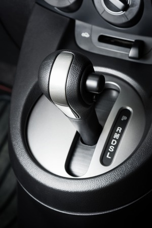 A floor selection lever of car with automatic transmission gear shift