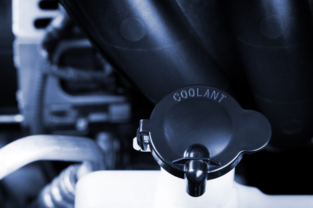 coolant: coolant container in engine room