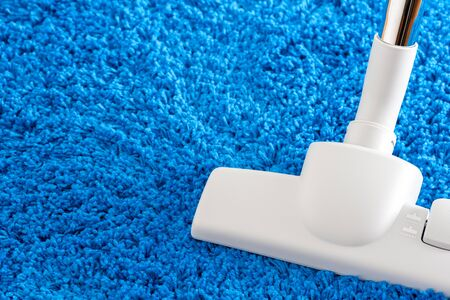 vac: cleaning home with vacuum cleaner