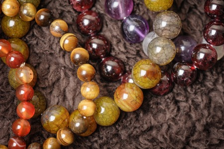 jewelry with natural semiprecious stones bracelets