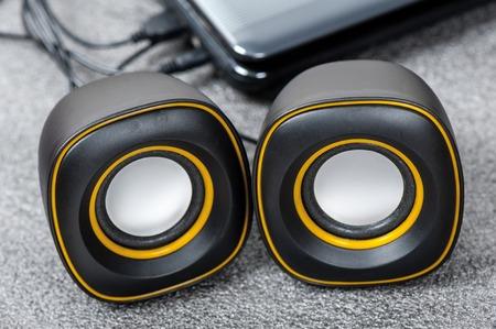 subwoofer: mini USB stereo speakers for Laptop