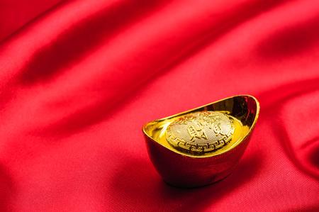 chinese gold ingot, chinese gold nugget