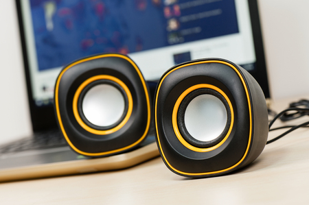 mini USB stereo speakers for Laptop