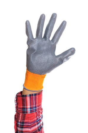 the all purpose gloves with non-slip rubber coated.