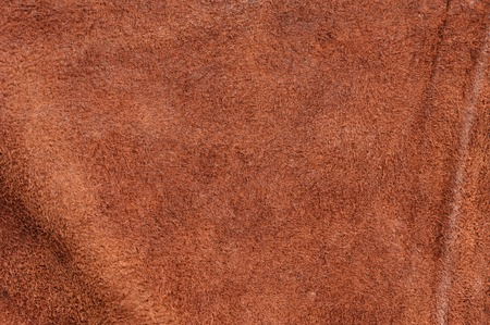 raw material background, closeup details of brown leather texture