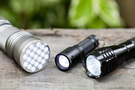 Taschenlampe für Everyday Carry (EDC), geringe Schärfentiefe