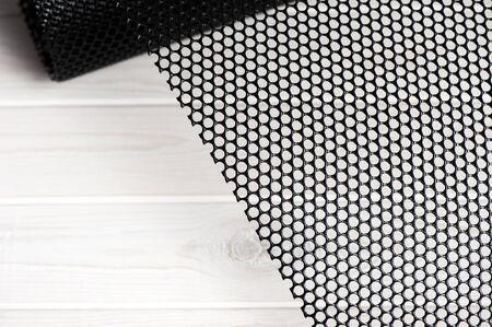 black platic net, black extruded plastic mesh, black plastic fence net, bird netting