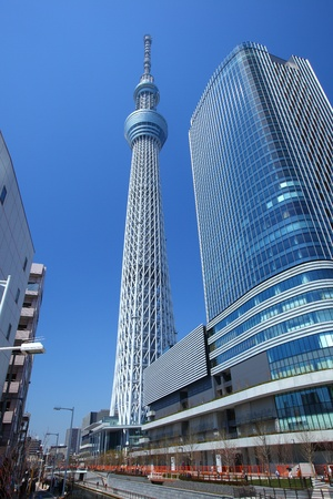 oshiage: Tokyo sky tree, Japanese radio tower