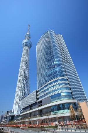 Tokyo sky tree, Japanese radio tower