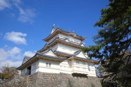 odawara: Odawara castle with blue sky at japan Editorial