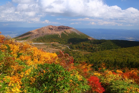 fukushima: Mt  Azumakofuji of tinted autumn, Fukushima, Japan