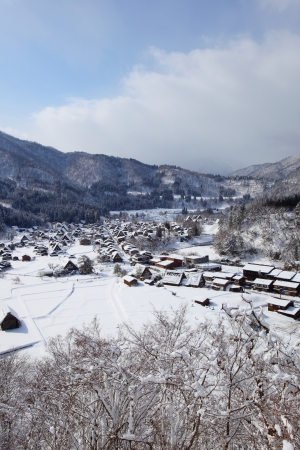 gassho zukuri: Historic Village of Shirakawago, Gifu, Japan