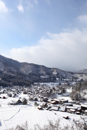 ogimachi: Historic Village of Shirakawago, Gifu, Japan