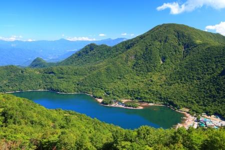 Mt. Akagi and Oonuma in summer, Gunma, Japan