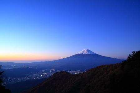 mt: Daybreak at the Mt. Fuji, Yamanashi, Japan