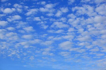 altocumulus: Sky with cloud, altocumulus