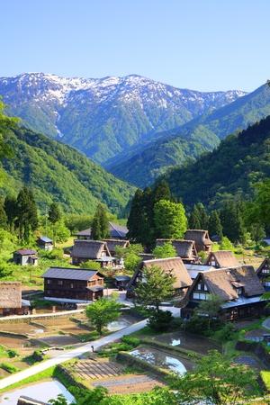 gokayama: World heritage site Gokayama, Toyama, Japan