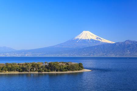 Cape Osezaki and Mt. Fuji seen from Nishiizu, Shizuoka, Japan