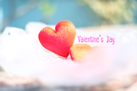 Happy Valentines Day Background Abstract Stock Photo