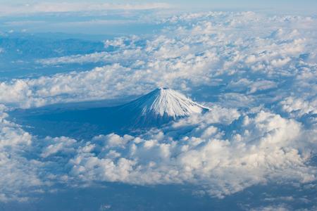 December Fuji Stock Photo