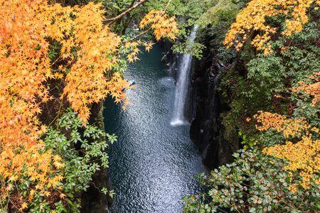 Manai Falls - A power spot in Japan, Takachiho Gorge