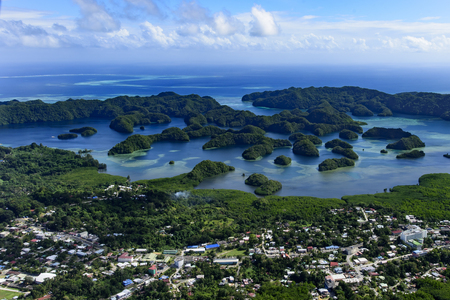 seventy: Palau Koror city area and Islands in the cove