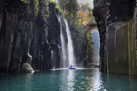 Manai Falls - Shrine of Japan,Takachiho Gorge