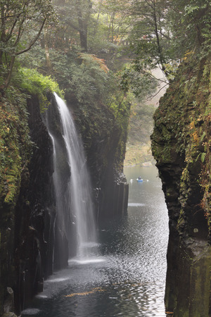 Manai Falls - A power spot in Japan, Takachiho Gorge