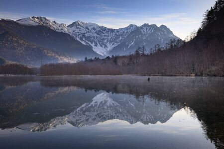 Kamikochi, Taisho Pond at dawn